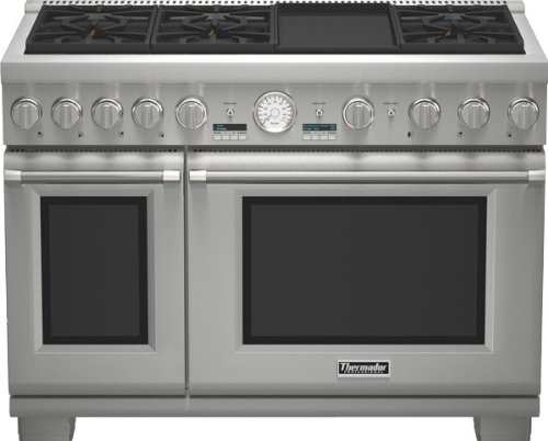 Thermador-48-In-Stainless-Steel-Gas-Range-PRG486JDG