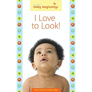 Baby Beginnings: I Love to Look! Bible Story Picture Cards (Gospel Light's Baby Beginnings)