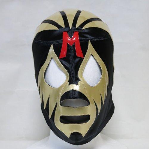 仮面貴族  ミル・マスカラス セミプロマスク ブラック×ゴールドトレード