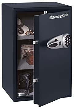 Sentry Safe T6-331 Large Electronic Lock Security Safe with Carpeted Interior, Adjustable Shelves
