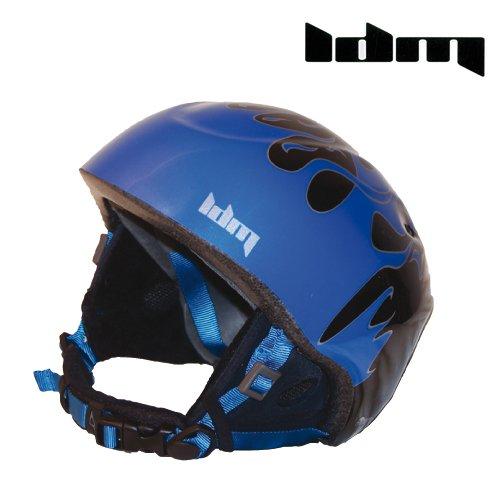 LDM Stomper Snow Helmet, Blaze (Black/Blue), X-Small/Small