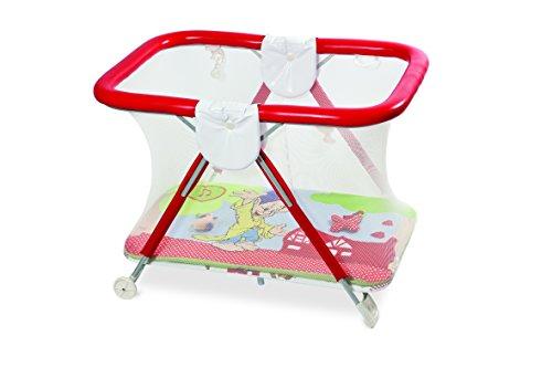 Primi Sogni 270/NAN Holiday Safe&Fun Box con Tappeto Gioco, Rosso