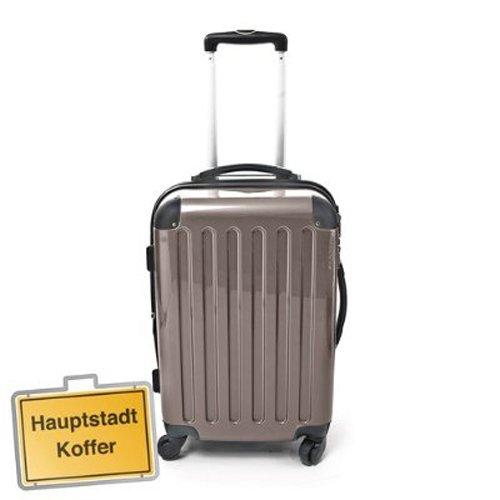 Hartschalen Koffer Titan Hochglanz max.87 L Reisetrolley
