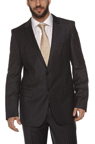 Hugo Boss HUGO Suit AAMON/HAGO, Color: Dark Grey, Size: 102