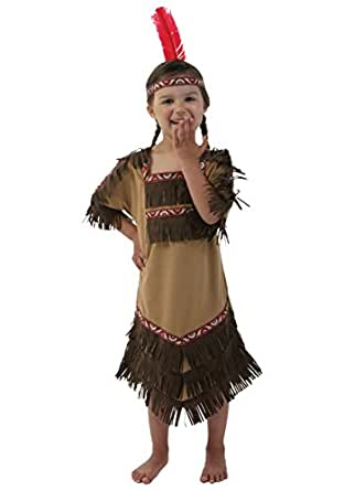 Fun Costumes girls Toddler Indian Maiden Costume