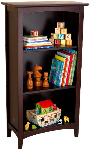 KidKraft Avalon Three-Shelf Bookcase - Espresso Kids 3 Shelf Bookcase