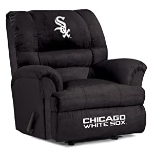 MLB Chicago White Sox Big Daddy Microfiber Recliner by Imperial