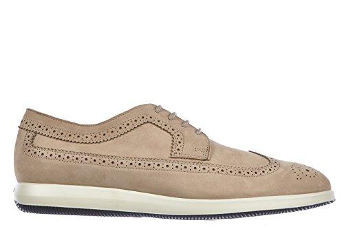 hogan-scarpe-stringate-calssiche-homme-in-cuir-nuove-derby-dress-x-beige-eu-45-hxm2090l0815ipb209
