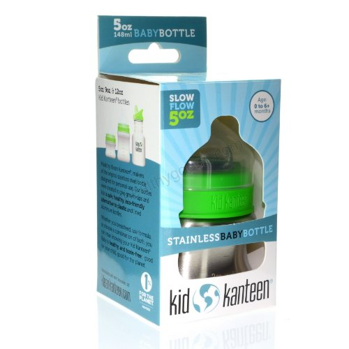 Klean Kanteen Kid Kanteen Stainless Baby Bottle - 5 oz - 1