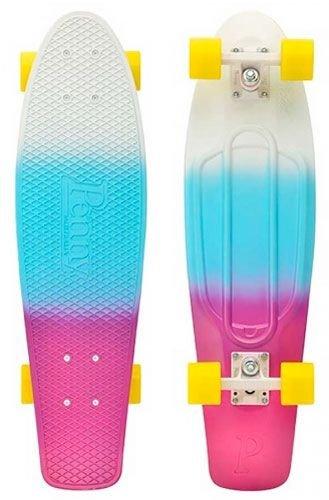 Penny Fade Complete Skateboard, Soda Purple/Blue/White, 22-Inch (Soda Penny Board compare prices)