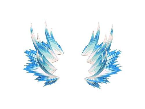 【フィギュア 買取】1/12 ペーパーエフェクト 闘気A ノーマルVer.(ブルー) 「PEPATAMAシリーズ」