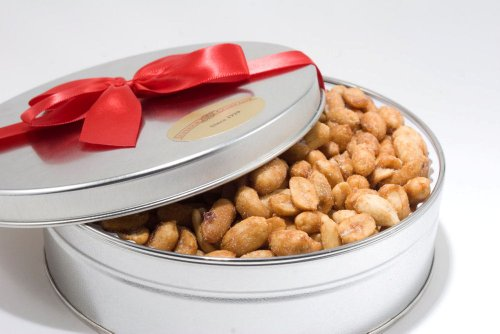Honey Roasted Virginia Peanuts Gift Tin