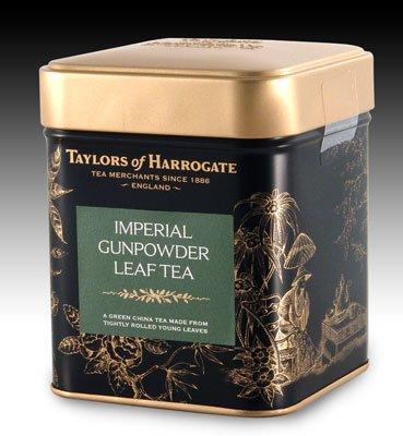 Taylors of Harrogate - Imperial Gunpowder Tea - Loose Leaf Tin - 125g - 4.4oz