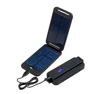 Power Traveller Powermonkey Extrême Chargeur batterie et panneau solaire haute capacité Noir