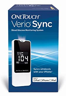 OneTouch VerioSync Blood Glucose Monitoring System - Online Exclusive