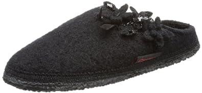 Giesswein Nazza 60/10/42758-022, Damen Pantoffeln, Schwarz (schwarz 022), EU 36