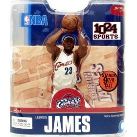 "Buy LeBron James 4 Rare Cleveland Cavaliers ""White Jersey"" Variant McFarlane NBA Series 13 Action Figure"