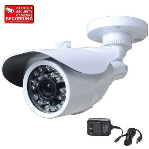 For Sale! VideoSecu CCTV Home Surveillance Outdoor IR Bullet Security Camera Color CCD Day Night 24 ...