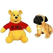 Vpra Mart Mr. Ballu & Pug Dog Toy Combo
