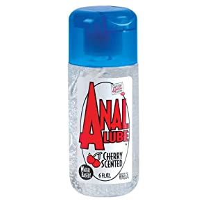 Cal Exotics Anal Lube, Cherry Scented