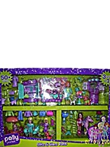 Polly Pocket Glitz & Glam Pets Superset 3 sets in 1 50+ pieces at Sears.com