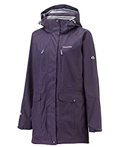Craghoppers Madigan Women's Long Jacket - Size: 8, Color: Dark Purple