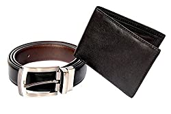 Spairow Wallet And Belt Combo- W332B05