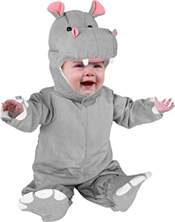 Baby Infant Hippo Costume (Size:6-12M)