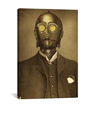 Terry Fan Baron Von 3PO Gallery-Wrapped Canvas Print