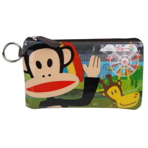 Paul Frank Julius & Clancy Ferris Wheel Theme Park Fair Pencil Case/Cosmetic Bag