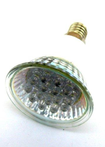 E-077-1 / 1 LED-Strahler LED Strahler 15 LED 230V E14 weiß
