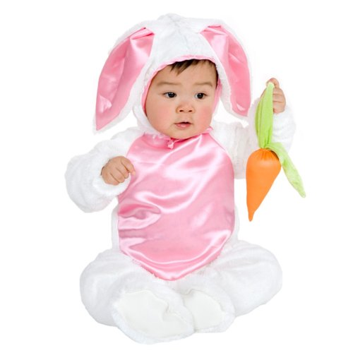 Plush Bunny Costume (Toddler Children's Costume)