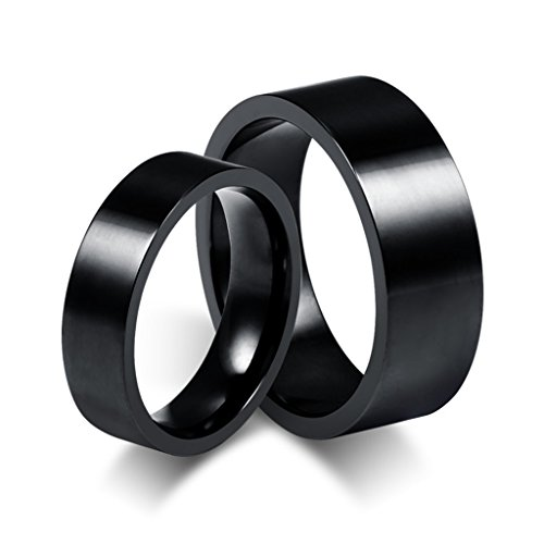 Xiangling-Jewelry-Stainless-Steel-Black-Wedding-Bands-His-And-HersPrice-For-1Pc-Only