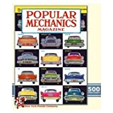 Classic Cars 500 Piece Puzzle Popular Mechanics Magazine Cover
