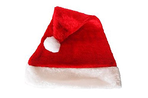 Plush Santa Hat# Red