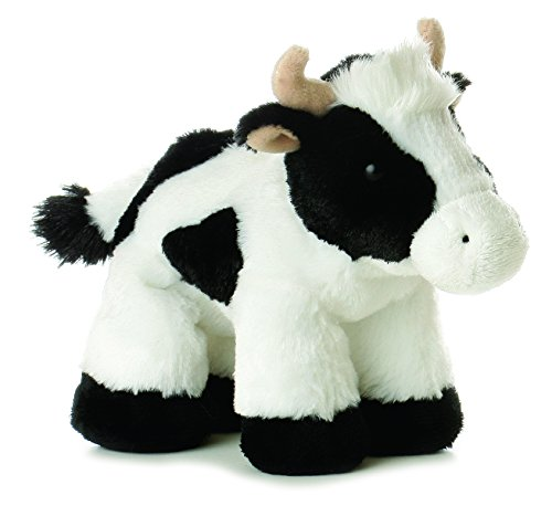"Aurora Plush Mini Moo Cow Flopsie 8"" by Aurora"