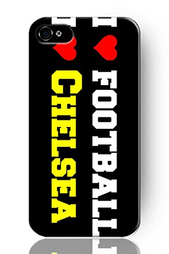 Sprawl New Fashion Design Hard Skin Case Cover Shell For Mobile Phone Apple Iphone 4 4S 4G--I Love Soccer