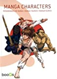 img - for Manga Characters book / textbook / text book