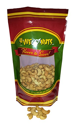 Unsalted Cashews ~ 4 Lb. - We Got Nuts