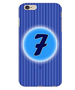 ColourCraft Numerology Number 7 Back Case Cover for APPLE IPHONE 6S PLUS