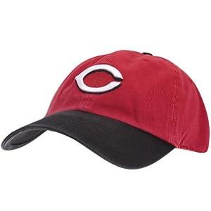 Cincinnati Reds - Mens Cincinnati Reds - Adjustable Baseball Cap Red