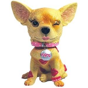 Aye Chihuahua Flirt Bobble Figurine