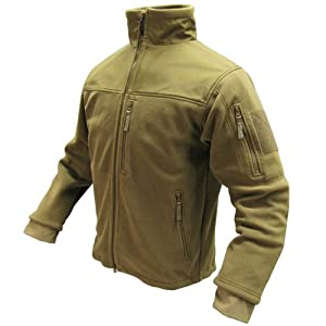 Condor ALPHA Micro Fleece Jacket - 601, Color Tan, Medium