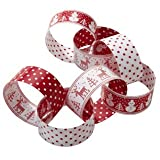 Nordic Christmas Paper Chain Garland