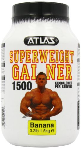 Nutrisport Atlas Super Weight Gainer Banana Powder 1.5Kg