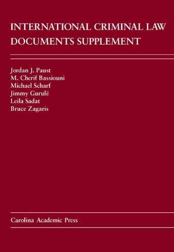 International Criminal Law Documents