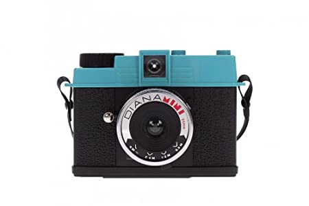 Lomography Diana Mini Camera - Black/Blue