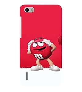 EPICCASE M&M case Mobile Back Case Cover For Huawei Honor 6 (Designer Case)
