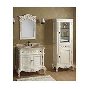 Antique White Bathroom Vanities With Fantastic Creativity In Germany