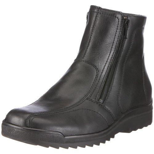 Waldläufer Hendrik Boots Mens Black Schwarz (Palmer schwarz Ama174 001) Size: 8.5 (42.5 EU)